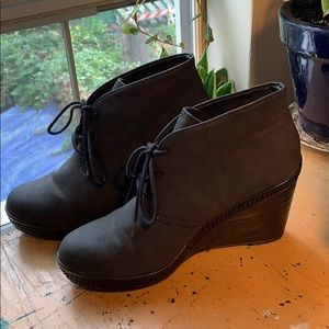 Dr. Scholl's wedge booties